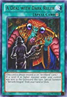 Yu-Gi-Oh! - A Deal with Dark Ruler (LCJW-EN241) - Legendary Collection 4: Joey's World - 1st Edition - Rare by Yu-Gi-Oh!