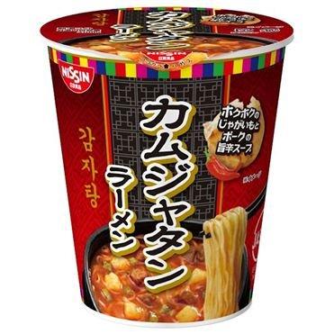 【販路限定品】日清食品 カムジャタンラーメン 66g×20個