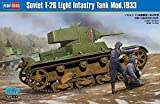 ホビーボス 1/35ファイティングヴィークルシリーズソビエトT-26 軽戦車 1933年型 プラモデル