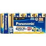 パナソニック EVOLTA 単1型アルカリ乾電池 4本パック LR20EJ 4SW