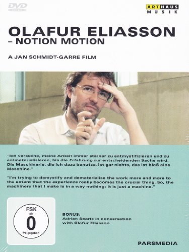 Olafur Eliasson - In Conversation with Adrian Searle - Art Documentary [DVD] [2007] by Jan Schmidt-Garre