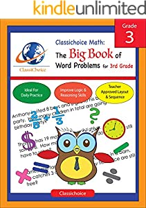 Classichoice Math: The Big Book of Word Problems for 3rd Grade (English Edition)