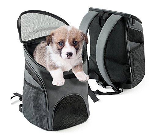 Vivcoo ペットキャリーバッグ 猫キャリーバッグペットキャリー 軽い 人気ペット鞄 リュック おしゃれ ...