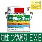 ニッペ 油性つやありEXE [1.6L] 日本ペイント・ニッペホーム・フェンス・シャッター・雨戸 ・鉄部・木部・合成樹脂調合ペイント・