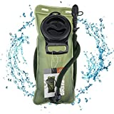 WACOOL 2L 2Liter 70oz 3L 3Liter 100oz BPA Free Hydration Pack Bladder, Leak-Proof Water Reservoir