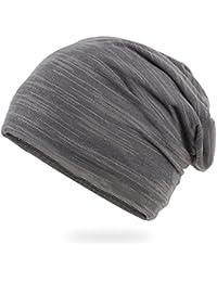アンミダ(ANMIDA)ニット帽 帽子 メンズ レディース 春夏 薄手 ニット帽 ニットキャップ コットン ニット帽 おおきい 無地 ゆったり ぼうし