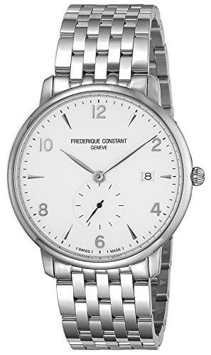 [フレデリック・コンスタント]FREDERIQUE CONSTANT 腕時計 スリムライン ホワイト文字盤 245SA5S6B メンズ 【並行輸入品】