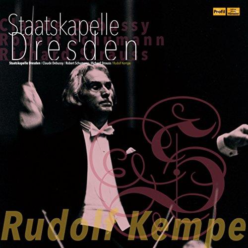 シュターツカペレ・ドレスデン LPエディション Vol.3 ~ ルドルフ・ケンペ - ヴァイオリン両翼配置によるステレオ・ライブ集 / ドビュッシー | シューマン | リヒャルト・シュトラウス (Claude Debussy | Robert Schumann | Richard Strauss / Rudolf Kempe | Staatskapelle Dresden) [2LP] [Limited Edition] [Live Recording] [日本語帯・解説付] [Analog]