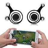 LEFON スマホゲームジョイスティック ゲームパッド ゲームコントローラー Mobile Joystick 吸盤式 モバイルジョイスティック For IOS iPhone/Android スマホと Pad サイズに関わず