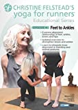 Yoga for Runners Educational Series 4: Feet to [DVD] [Import]