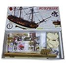 1174 輸入木製帆船模型 マモリ社 MV58 HMSサプライズ