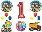 究極のConstruction 1st BirthdayパーティーSuppliesとバルーンデコレーション