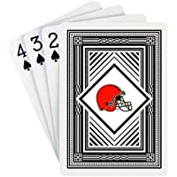 NFL Cleveland Browns Playing Cards (クラシックバック、Oneデッキ)