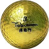 公認球 高反発ソフトコア 2ピース構造キラキラメタルボール 12球 1ダース ゴールド FLYGADR-GD4
