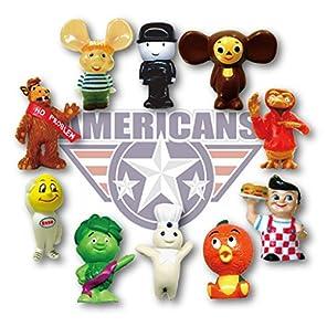 アメリカン キャラクター PVC フィギュア 10P Set 並行輸入 アメリカン雑貨