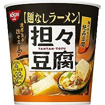 日清 麺なしラーメン 担々豆腐スープ 27g×6個