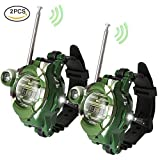 YEKOO ウォッチ型 トランシーバー 子供用 多機能時計 子供のおもちゃ 通信範囲150M スパイゲーム カモフラージュ 男女兼用 2台セット