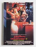 Nightmare on Elm Street 2映画ポスター冷蔵庫マグネット( 2x 3インチ)