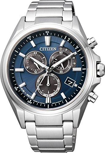 [シチズン]CITIZEN 腕時計 ATTESA アテッサ エコ・ドライブ電波時計 クロノグラフ A...
