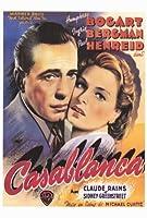 カサブランカポスターC 27x 40Humphrey Bogart Ingrid Bergmanポール・ヘンリード Unframed 351927