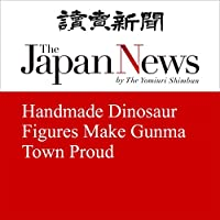 Handmade Dinosaur Figures Make Gunma Town Proud