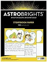 Astrobrights 物語帳用紙 8-1/2 x 10-1/2インチ 100枚