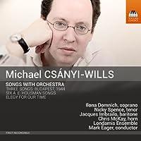 マイケル・チャーニ=ウィルス:管弦楽を伴う歌曲集