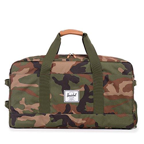 [ハーシェルサプライ] キャリーバッグ OUTFITTER 縦サイズ33cm 10040-00001-OS Woodland Camo