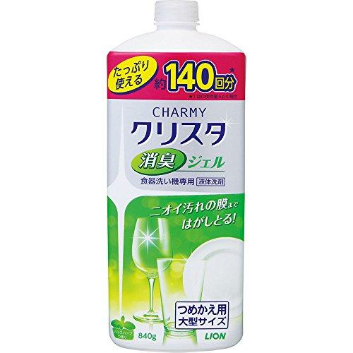 【大容量】チャーミークリスタ 消臭ジェル 食洗機用洗剤 詰め...