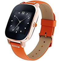 ASUS Smartwatch for - Retail Packaging - Rose Gold case, Orange Leather band [並行輸入品]