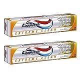 Aquafresh Extreme Clean Mint Blast Fluoride Toothpaste 158g x 2P/アクアフレッシュエクストリームクリーンミントブラストフッ化物練り歯磨き