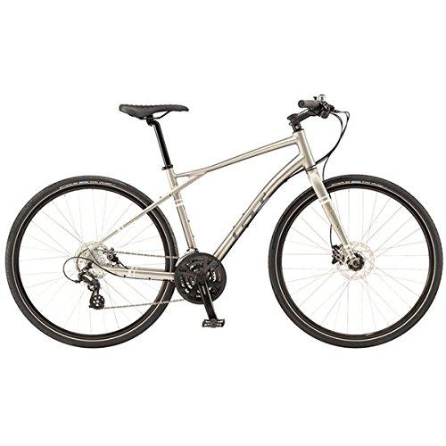 GT(ジーティー) クロスバイク トラフィック3.0 700C グレー Lサイズ