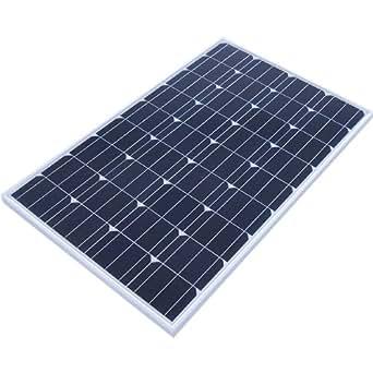 ソーラーパネル 100W 単結晶 太陽光パネル