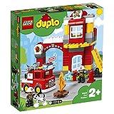 レゴ(LEGO) デュプロ 光る! 鳴る! 消防車と消防署 10903