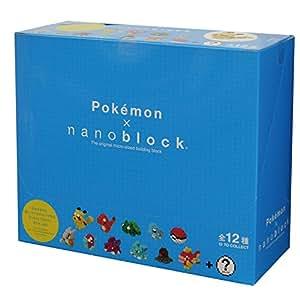 ナノブロック ミニポケットモンスター シリーズ01 BOX NBMPM_01S BOX商品 1BOX = 12個入り、全12種類