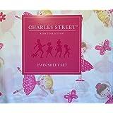 おもちゃ Charles Street Ballerina Twin Sheet Set [並行輸入品]