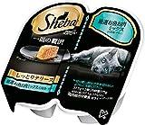 シーバ (Sheba) キャットフード 一皿の贅沢 しっとりテリーヌ 厳選お魚お肉ミックス(白身魚・チキン) 75g(37.5g×2個入)×6個(まとめ買い)