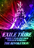 EXILE TRIBE PERFECT YEAR LIVE TOUR TOWER OF WISH 2014 ~THE REVOLUTION~ (DVD3枚組) 画像