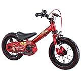アイデス (ides) じてんしゃデビュー 2in1 カーズ レッド 子ども用 キッズ 自転車 幼児車 ペダルレス