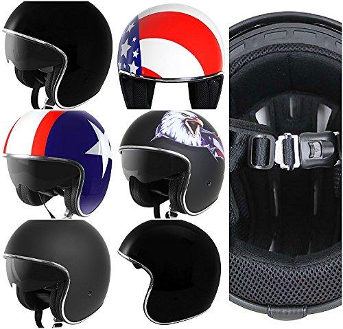 5のデザインから選択!ワンタッチヘルメットバックル標準装備!限定価格! ジェットヘルメット(バイクヘルメット) 、オープンフェイスヘルメット、ハーレーダビッドソン乗り愛用 ハーレー ヘルメット  HELMET ポイント消化に! S/M/L/XL/XXL (S, イーグル)