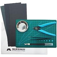 MAKANATS プラモデル 工具セット はじめの一つを作るための ツールキット 工具 8点セット