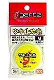 ガルツ(gartz) ウキ止メ糸 M/イエロー