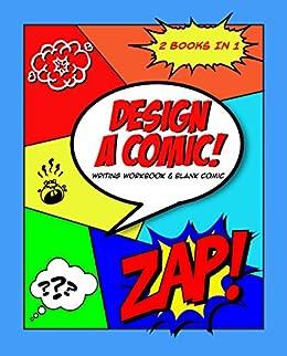amazon design a comic writing workbook blank comic book
