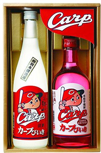 中国醸造 カープびいきギフトセット(CARP?30) 720ml×2本セット