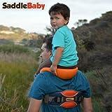 ショルダーアンクルストラップ付きキャリア/クッションシート SaddleBaby社【並行輸入】