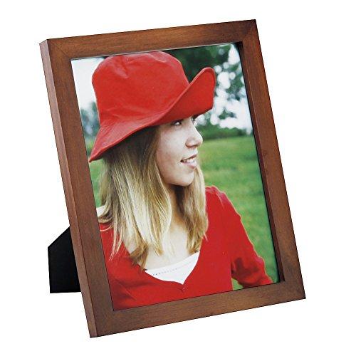 20 x 25 cm ピクチャフレーム ソリッドウッド製 高精細ガラス テーブル トップクラス フォトディスプ...