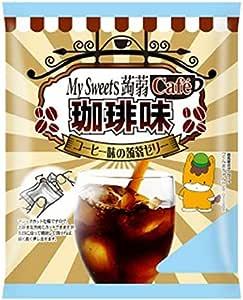 下仁田物産 マイスィーツ蒟蒻カフェ珈琲味 6個×16袋