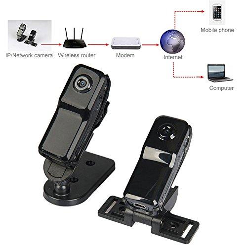 ミニ無線P2P隠されたスパイカメラ ミニIP DVビデオレコーダー DVアクションビデオカメラ ベビーモニター