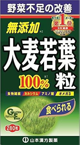 山本漢方 大麦若葉青汁粒100%