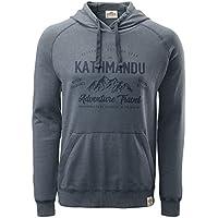 Kathmandu Men's Earthcolours Hooded Pullover Jumper Hoodie Top